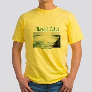 Niagara Falls Yellow T-Shirt