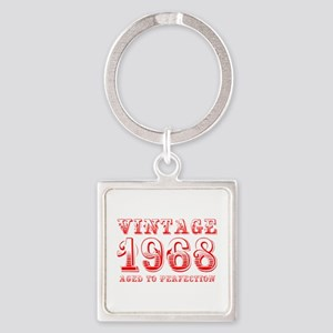 VINTAGE 1968 aged to perfection-red 400 Keychains