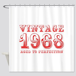 VINTAGE 1968 aged to perfection-red 400 Shower Cur