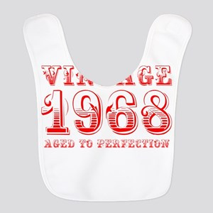 VINTAGE 1968 aged to perfection-red 400 Bib