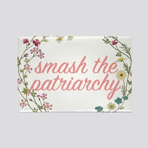 Smash the Patriarchy Rectangle Magnet