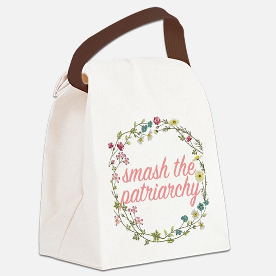 Smash the Patriarchy Canvas Lunch Bag