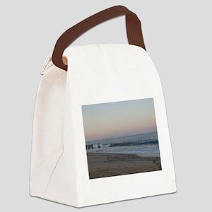 Rehoboth Delaware Sunset Canvas Lunch Bag