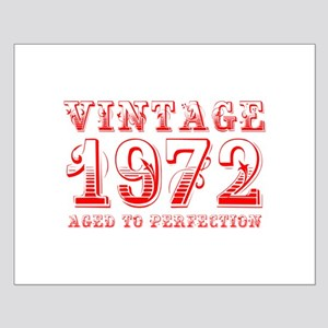 VINTAGE 1972 aged to perfection-red 400 Posters