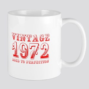 VINTAGE 1972 aged to perfection-red 400 Mugs
