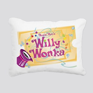 Charlieandthechocolatefa Rectangular Canvas Pillow