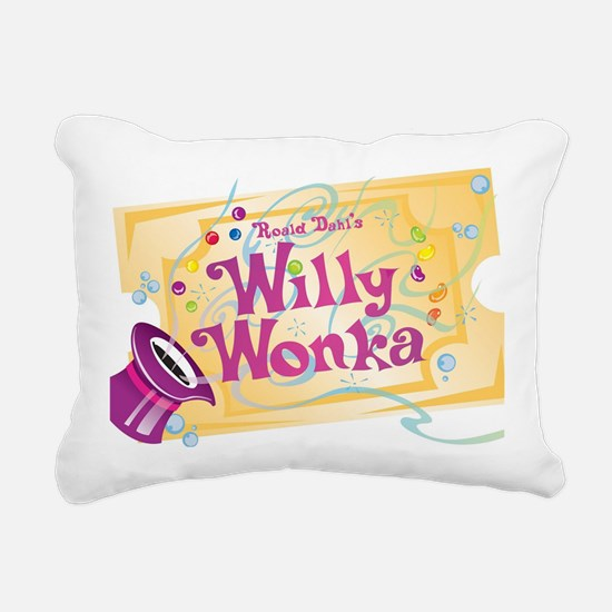 Charlieandthechocolatefa Rectangular Canvas Pillow