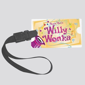 Charlieandthechocolatefactory Large Luggage Tag
