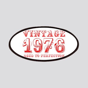 VINTAGE 1976 aged to perfection-red 400 Patch