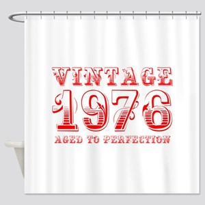 VINTAGE 1976 aged to perfection-red 400 Shower Cur