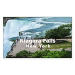 Niagara Falls Sticker (Rectangle 50 pk)