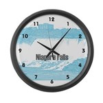 Niagara Falls Large Wall Clock