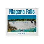 Niagara Falls Throw Blanket