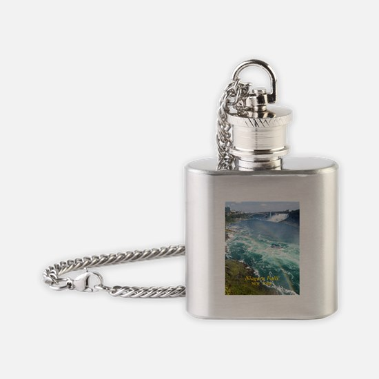 Niagara Falls Flask Necklace