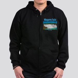 Niagara Falls Zip Hoodie (dark)
