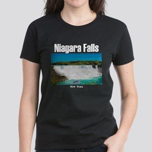 Niagara Falls Women's Dark T-Shirt