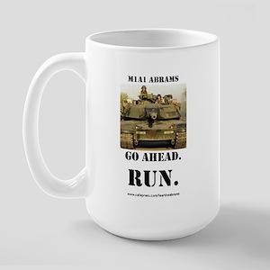 M1A1 Abrams Large Mug