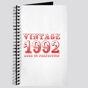 VINTAGE 1992 aged to perfection-red 400 Journal