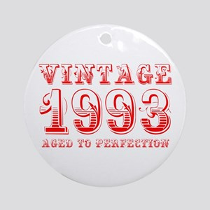 VINTAGE 1993 aged to perfection-red 400 Ornament (