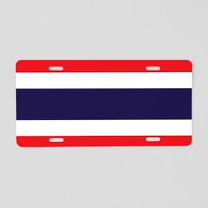 Flag of Thailand Aluminum License Plate