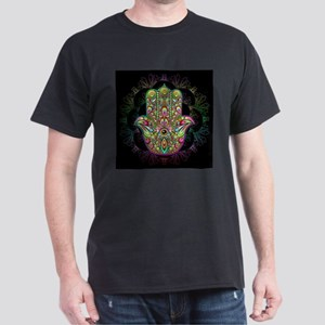 Hamsa Hand Amulet Psychedelic T-Shirt