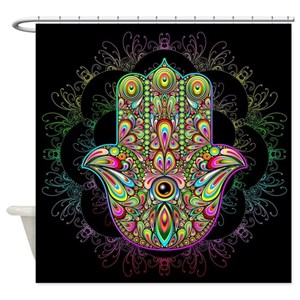 Meditation Shower Curtains