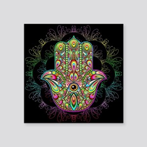 Hamsa Hand Amulet Psychedelic Sticker