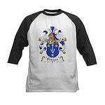 Freyer Family Crest Kids Baseball Jersey