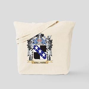 Callanan Coat of Arms - Family Crest Tote Bag