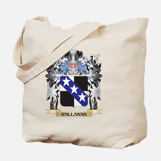 Callanan Coat of Arms - Family Crest Tote Bag
