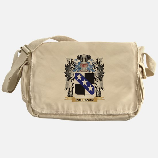 Callanan Coat of Arms - Family Crest Messenger Bag