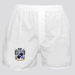 Callanan Coat of Arms - Family Crest Boxer Shorts
