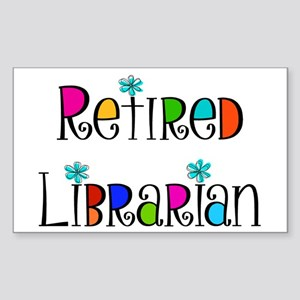 Retired Librarian Sticker