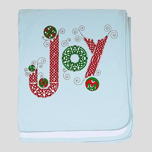 Celtic Christmas Joy baby blanket