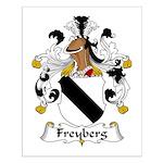 Freyberg Family Crest Small Poster