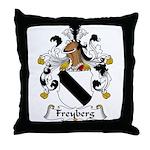 Freyberg Family Crest Throw Pillow