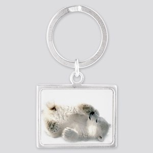 Baby Polar Bear Keychains