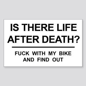 Funny! Is there life after death? (MY BIKE) Sticke