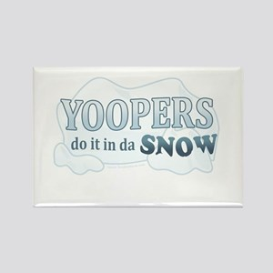 Do It In Da Snow Rectangle Magnet