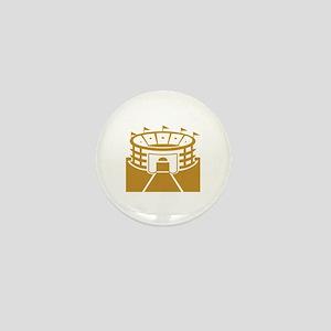 Brown Stadium Mini Button