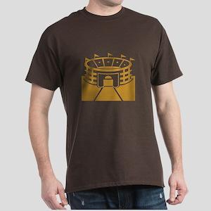 Brown Stadium Dark T-Shirt