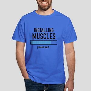 Installing Muscles Dark T-Shirt