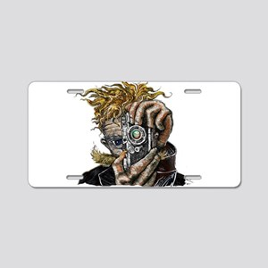 Photographer ART Aluminum License Plate