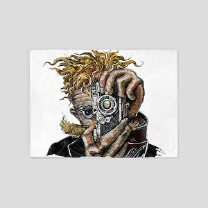 Photographer ART 5'x7'Area Rug