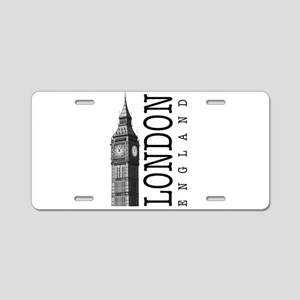 London Big Ben Aluminum License Plate