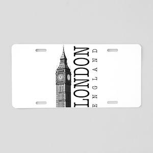 London Big Ben Aluminum License Plate