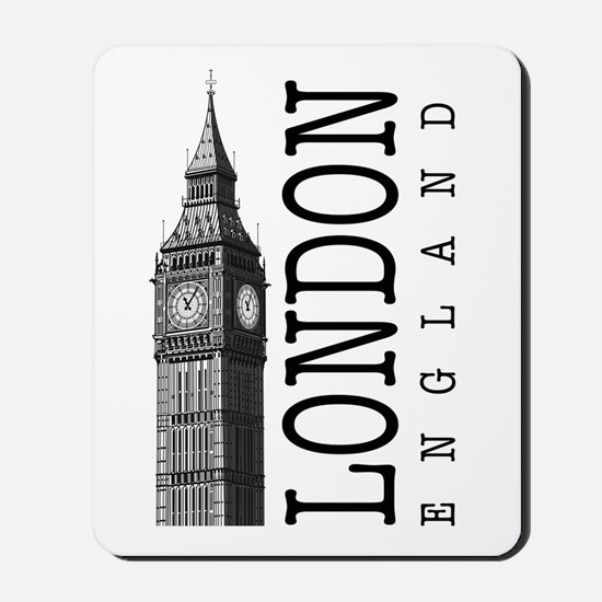 London Big Ben Mousepad