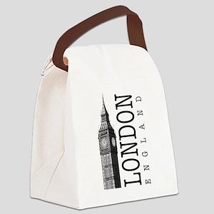 London Big Ben Canvas Lunch Bag