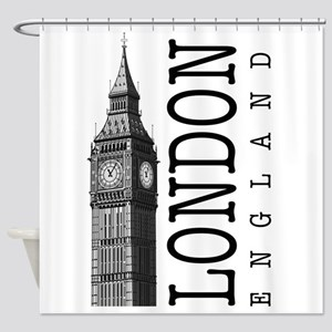 London Big Ben Shower Curtain