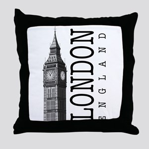 London Big Ben Throw Pillow